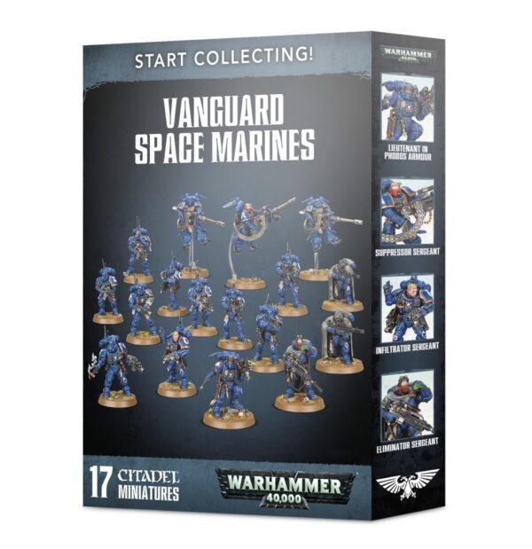 Start Collecting! Vanguard Space Marines